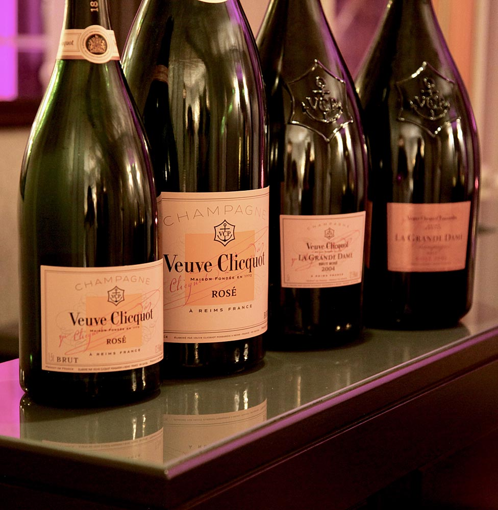 #vcrose200 Veuve Clicquot Rosé line up